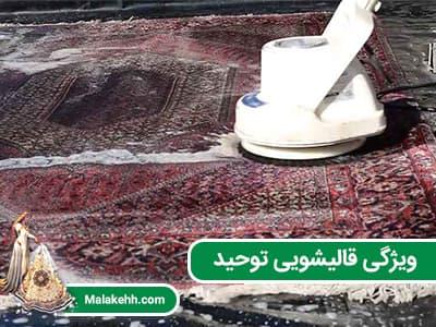 ویژگی قالیشویی توحید